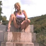 Outdoor pee 001