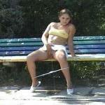 Pee in park.