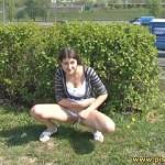 Outdoor pee 028. Pissingoutdoor.