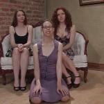 Amber, Kristine, Rita.Pissing.com.