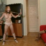 Domina and Lolly Cat – Candelabra.  House of Taboo.