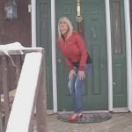 Carissa  – Doorstep Desperation. Bound2Burst.