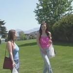 Megan and Janessa's walk. INeed2Pee.