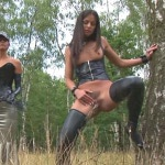 Lucy Lee and Lucky: A PISS IN THE FOREST. HouseofTaboo.