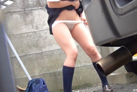 Japanese spy city pissing 2.