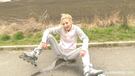 Nathaly - Roller skate contest