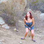 Ruby  – Outdoor desperation and pissing on rocks.