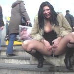 Extreme Public Piss Girls. Dolly. EPP #27.