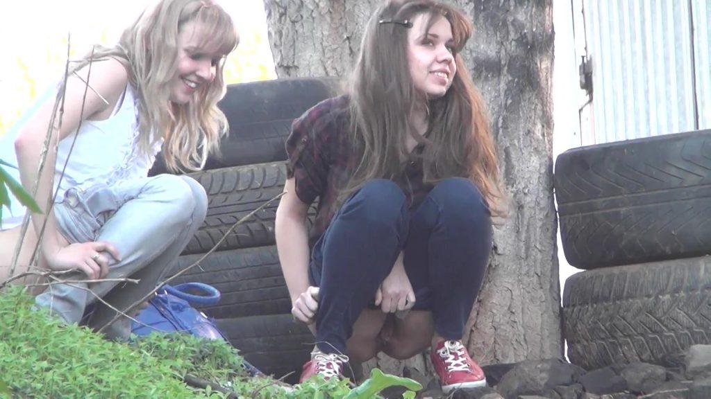 An orgy horny blonde teen