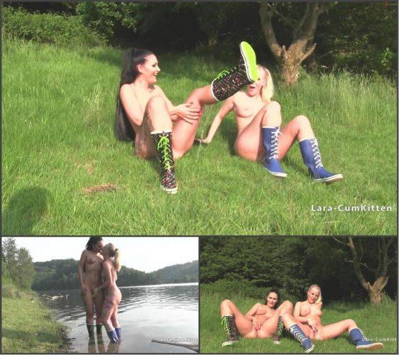 naughty-girls-boots lara cumkitten
