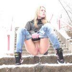 Claudia – Cold Pissing scene