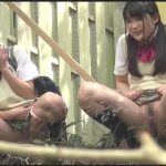 School Girls Piss In The Way Home From School.  FSET-664.