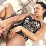 Megan torturing slave.