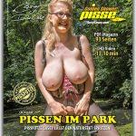 Casey pisst im Park.