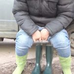 Kukolka – Urine in rubber boots.