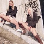 Licky Lex & Violeta – Pissing scene.