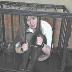 Elouise Please – Locked up in a cage,  Desperate and  Humiliated.