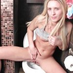 Jenny – It's hard to pee for a shy girl.