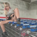 Lena Loch – The shopping cart pissing.