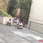 Girls Gotta Go. The Galician 86. Voyeur Public pissing.