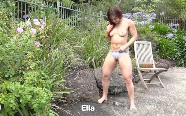 C winters ella abby Nude Girls: