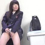 Girls peeing public dressed  up. EE-227-03.