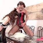 Zuzana Z. & Leona Queen – Exploited maid making pee-cake. DDFNetwork.