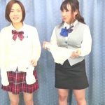 FF-097. Holding competition: School Gal vs Office Worker [part 5].