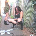Outdoor Pee 124. SneakyPee.