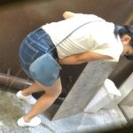 EE-253. Ladies piss accident at street (part 2).