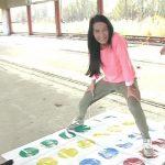 Lexi Dona + Morgan – Twister piss game.