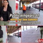Mira-Grey – In the middle of the station eingepisst! MDH.