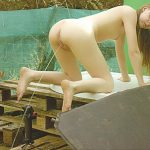 Daddy's Girl – Nudist Girl 18y posing, takes a Pee.