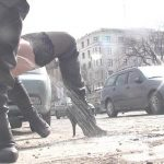 Blanka – Risky Public Street Peeing.