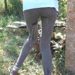 Beatrice –  Teen tights pee accident.