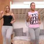 Alicia – Home aerobics  full of pee.