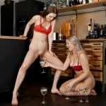 SexyNaty – 2 lesbians golden shower games. MDH.