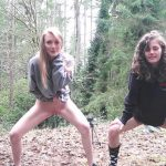 Destinationkat – Peeing Outside With Best Friend.