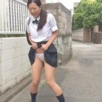 Innocent lady gets naughty and wets her panties. Pissjapantv