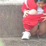Sporty Girl Sprays The Pavement. Pissjapantv.