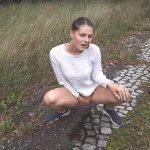 CumillaFucker – Beautiful Woman Pisses in Nature.