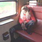 VanessaKiss (Teeny-Winnie18) – Pervers Public Piss The Train. Mydirtyhobby.