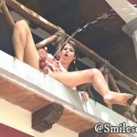 SmilesofSally – Slutty Girl Squirts Outdoors for Stalker.