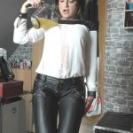 Nasse zip shot mit Glamour-Bitch. Mydirtyhobby.