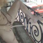 Camilla Moon – Public pissing from a balcony