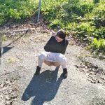 Nerdy Faery – Super SLOW MO Piss in Public.