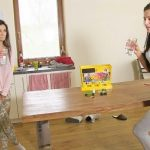 Keira and Lexi Dona – Guessing game.
