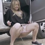 Britney Light Distracts Her Boyfriend While Driving.