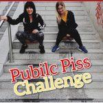 Marie-Saint  – Public Piss Challenge Who pisses more?