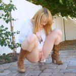 Nikole – A Mature Figure – Peeing Scene. FtvGirls.